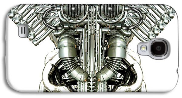 Mechanical Figure Galaxy S4 Case