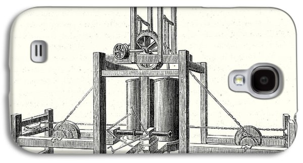 Mechanism Of Miller Taylor And Symingtons Steamboats Engine Galaxy S4 Case