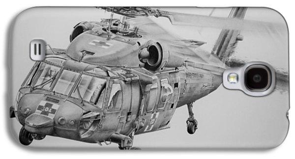 Helicopter Galaxy S4 Case - Medevac by James Baldwin Aviation Art