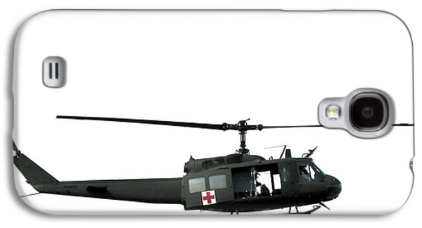 Helicopter Galaxy S4 Case - Medic Helicopter by Olivier Le Queinec