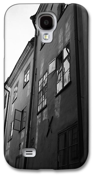 Medieval Houses - Monochrome Galaxy S4 Case by Ulrich Kunst And Bettina Scheidulin