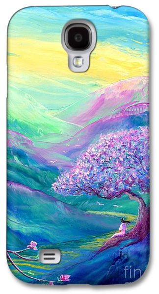 Meditation In Mauve Galaxy S4 Case