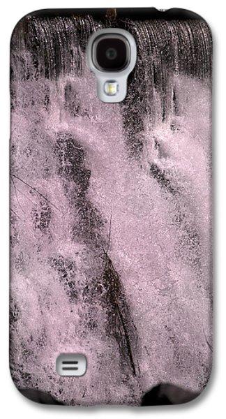 Meditative Otter Lake Waterfall  Galaxy S4 Case by Betsy Knapp