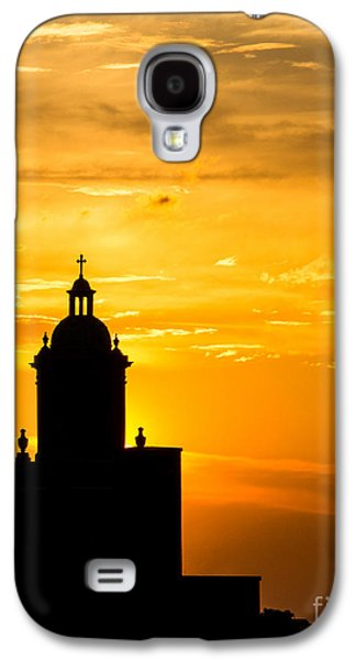 Meditative Sunset Galaxy S4 Case