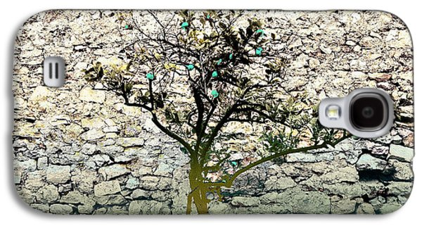 Mediterranean Garden With An Old Wall Galaxy S4 Case by Arsenije Jovanovic