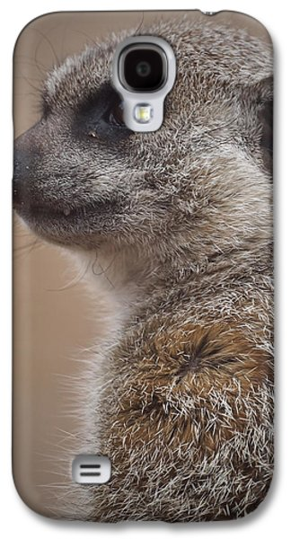 Meerkat 9 Galaxy S4 Case by Ernie Echols
