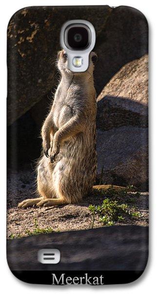 Meerkat Galaxy S4 Case by Chris Flees