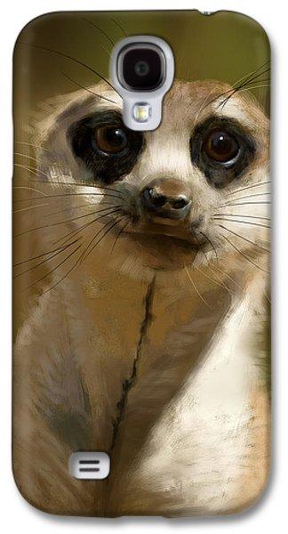 Meerkat Guardian Galaxy S4 Case by Arie Van der Wijst