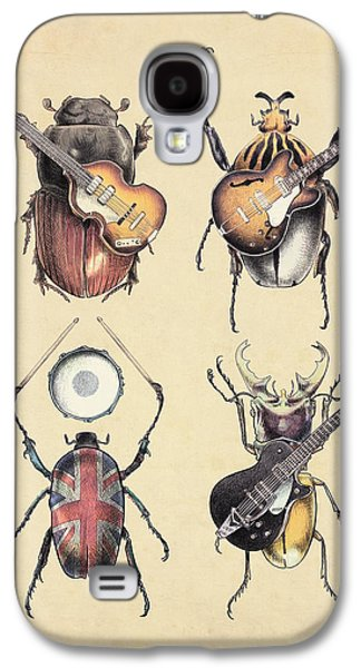 Meet The Beetles Galaxy S4 Case by Eric Fan