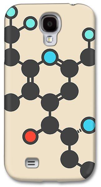 Mefloquine Malaria Drug Molecule Galaxy S4 Case by Molekuul