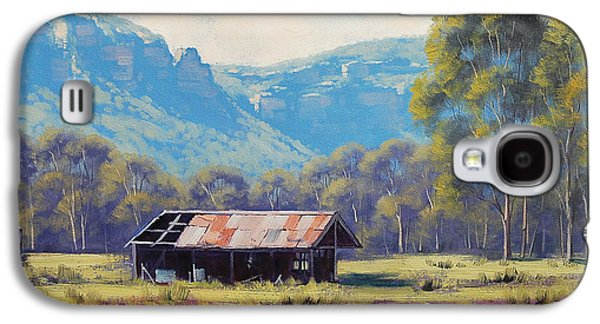 Megalong Valley Shed Galaxy S4 Case