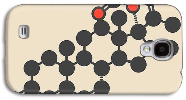 Melengestrol Hormone Molecule Galaxy S4 Case