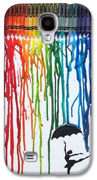 Melted Crayon Dancer Galaxy S4 Case