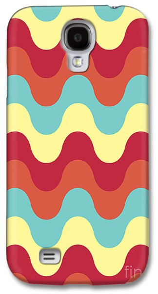 Melting Colors Pattern Galaxy S4 Case