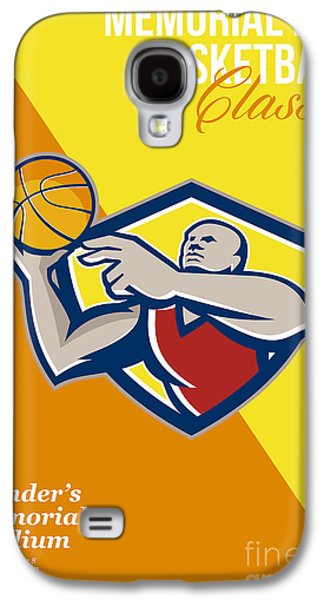 Memorial Day Basketball Classic Poster Galaxy S4 Case