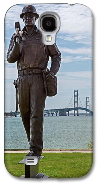 Memorial To Bridge Workers Galaxy S4 Case by Jim West