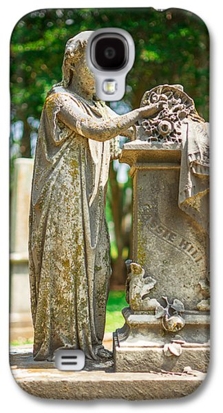 Memphis Elmwood Cemetery Monument - Cassie Hill Galaxy S4 Case by Jon Woodhams