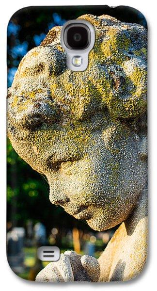 Memphis Elmwood Cemetery - Boy Angel Vertical Galaxy S4 Case