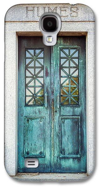 Memphis Elmwood Cemetery - Humes Crypt Galaxy S4 Case by Jon Woodhams