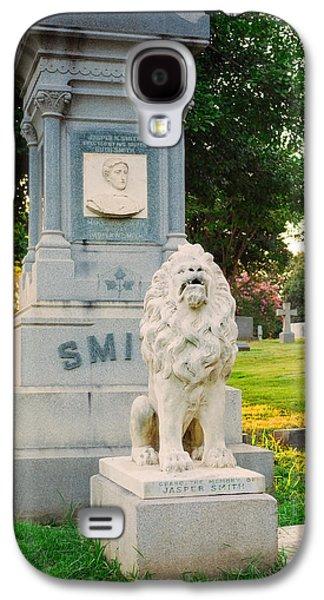 Memphis Elmwood Cemetery - Guarding Jasper Galaxy S4 Case