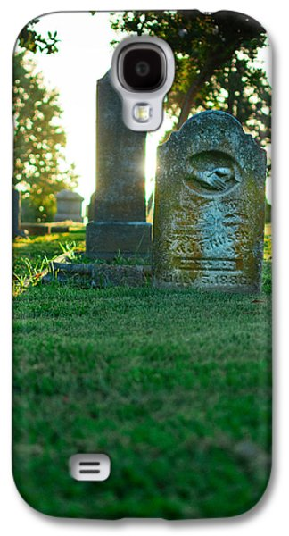 Memphis Elmwood Cemetery - Backlit Grave Stones Galaxy S4 Case