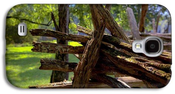 Mending Fences Galaxy S4 Case by Karen Wiles
