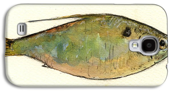 Menhaden Fish Galaxy S4 Case by Juan  Bosco