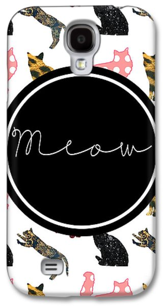 Cat Galaxy S4 Case - Meow by Pati Photography