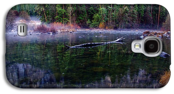 Merced River Riverscape Galaxy S4 Case by Scott McGuire