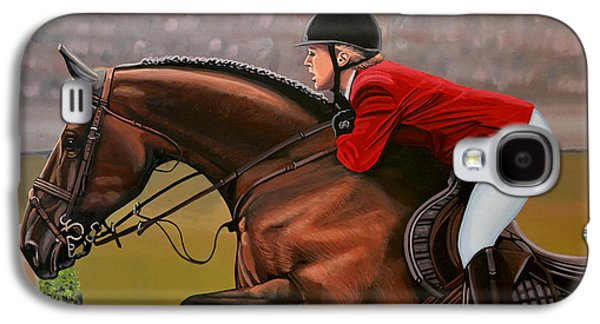 Horse Galaxy S4 Case - Meredith Michaels Beerbaum by Paul Meijering
