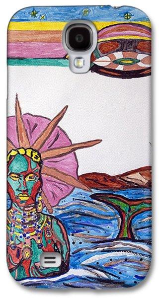 Yemoja Ufo  Galaxy S4 Case