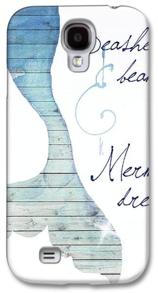Mermaid Dreams Galaxy S4 Case