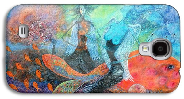 Mermaid World Galaxy S4 Case by Vandana Devendra