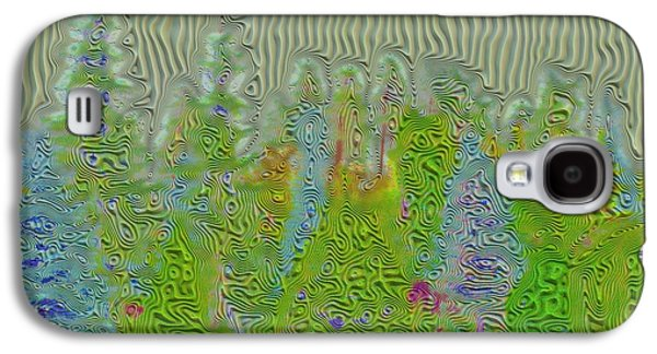 Meshed Tree Abstract Galaxy S4 Case by Liane Wright