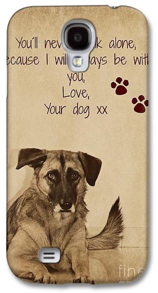 Message From Your Dog Galaxy S4 Case by Clare Bevan
