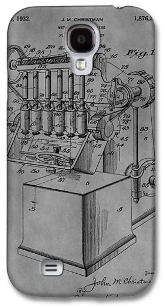 Metal Working Machine Galaxy S4 Case by Dan Sproul