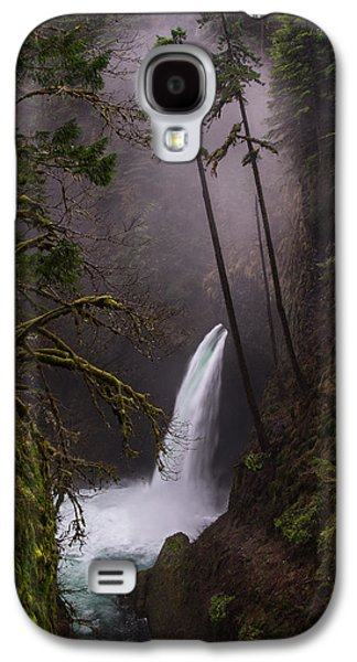 Metlako Falls Oregon Galaxy S4 Case by Larry Marshall