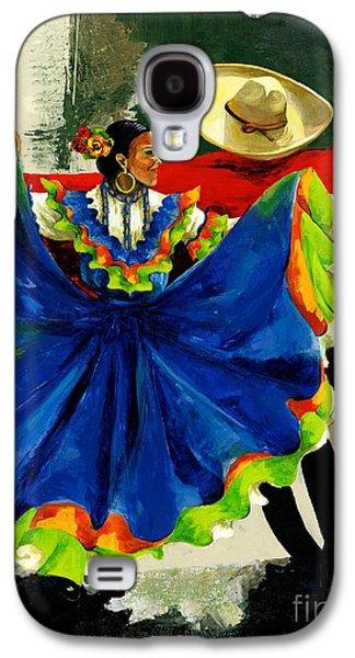 Mexican Dancers Galaxy S4 Case by Elisabeta Hermann