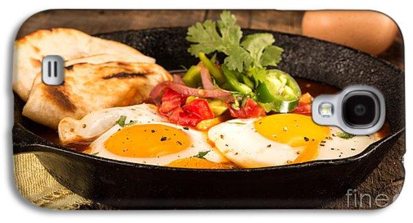 Mexican Eggs Galaxy S4 Case by Iris Richardson