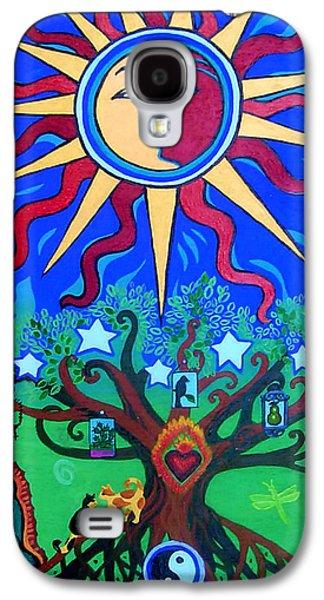 Mexican Retablos Prayer Board Small Galaxy S4 Case by Genevieve Esson