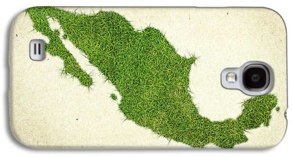 Mexico Grass Map Galaxy S4 Case