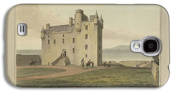 Mey Castle In Caithness Galaxy S4 Case by British Library