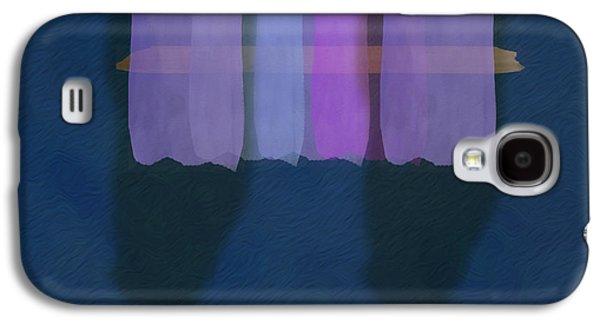 Mgl - Abstract Soft Blocks 01 I Galaxy S4 Case