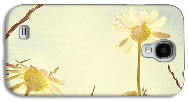 Sunny Galaxy S4 Case - #mgmarts #daisy #all_shots #dreamy by Marianna Mills