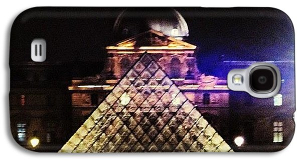 Sky Galaxy S4 Case - #mgmarts #louvre #paris #france #europe by Marianna Mills