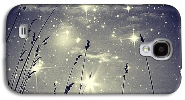 Blue Galaxy S4 Case - #mgmarts #mysky #wish #life #simple by Marianna Mills