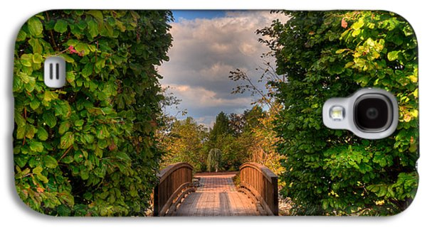 Mhs Gardens On Campus Galaxy S4 Case