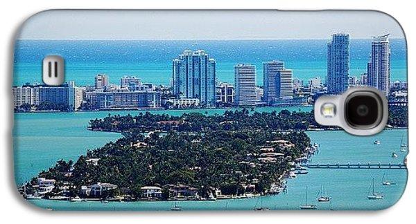 Iger Galaxy S4 Case - Miami Beach & Biscayne Bay by Joel Lopez