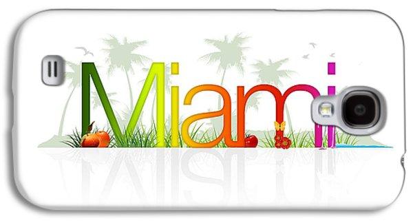 Miami- Florida Galaxy S4 Case