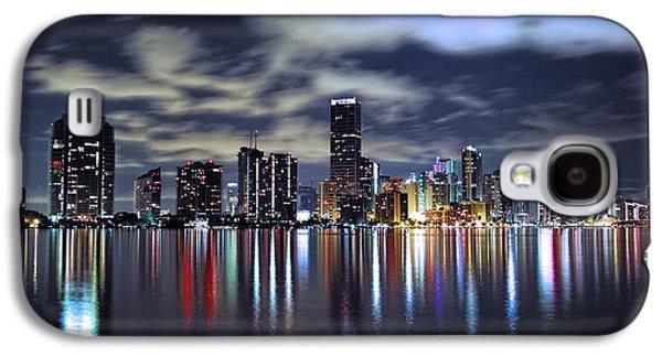 Miami Skyline Galaxy S4 Case by Gary Dean Mercer Clark